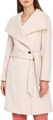 Reiss Luna Belted Wool Coat