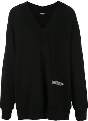 Calvin Klein deep v-neck jumper