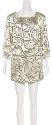 Thakoon Printed Shift Dress