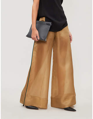 ARJE Sierra semi-sheer organza trousers