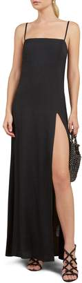 Reformation Keys Slit Maxi Dress