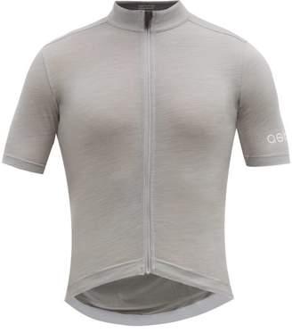 Ashmei - Classic Merino Blend Cycling Jersey - Mens - Silver