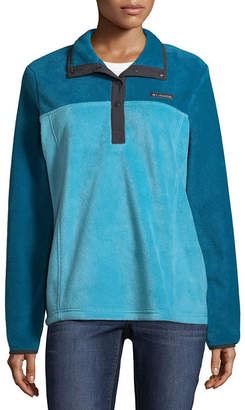 Columbia Three Lakes Half Snap Fleece Lightweight Jacket