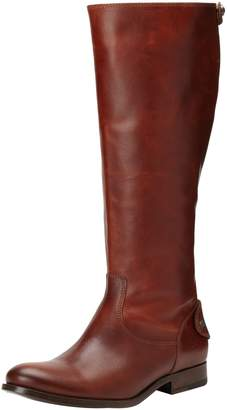 Frye Women's Melissa Button Back-Zip Boot
