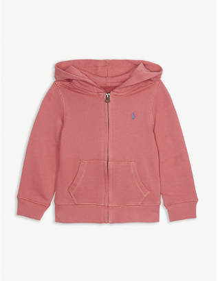 Ralph Lauren Cotton-blend zip through hoody