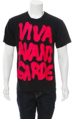 Jeremy Scott Viva Avant Garde Graphic T-Shirt