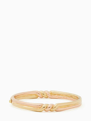 Kate Spade Heavy metals twist bangle