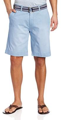 U.S. Polo Assn. Men's Flat Front Self Belted Twill Short