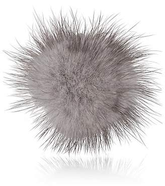 Fleur'd Men's Mink-Fur Lapel Pin - Gray