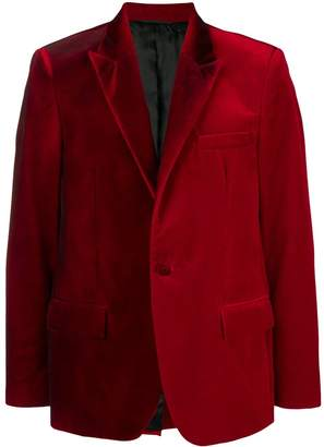 Golden Goose two-tone velvet blazer