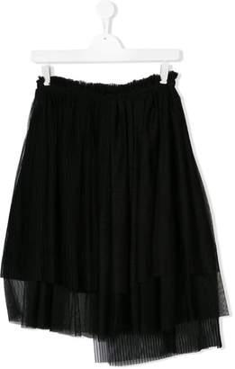 MSGM Kids TEEN pleated skirt