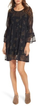 Women's O'Neill Susannah Bell Sleeve Dress $54 thestylecure.com