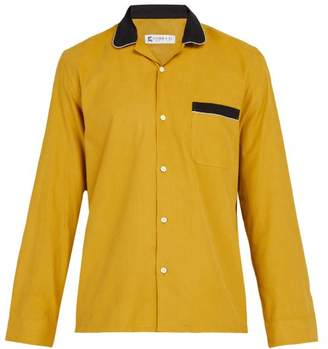 Cobra S.C. Cobra S.c. - Cabriolet Cotton Corduroy Shirt - Mens - Yellow