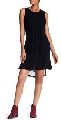 Go Silk go \u003E by GoSilk Pleated Keyhole Silk Dress