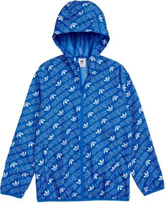 adidas Logo Hooded Jacket