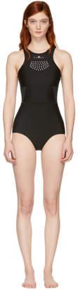 adidas by Stella McCartney Black High Neck Swimsuit