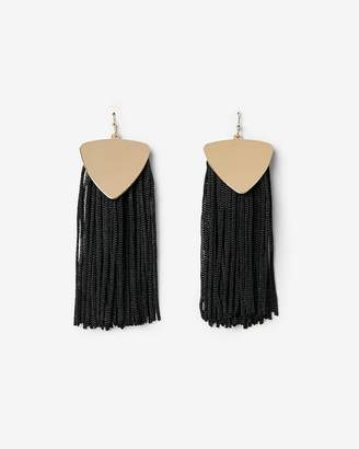 Express Silky Fringe Tassel Earrings