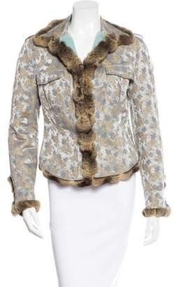 Blumarine Sheared Mink & Chinchilla Jacket