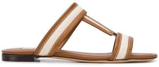 Tod's canvas insert sandals