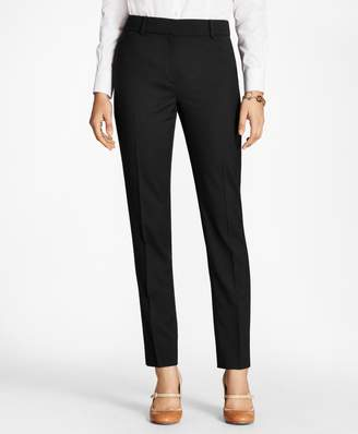 Brooks Brothers Stretch-Wool Double-Weave Pants