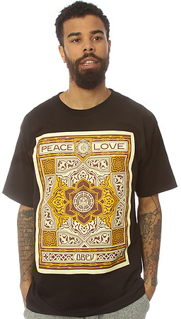 Obey The Peace & Love Tee