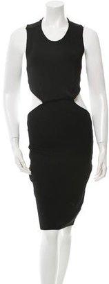 AQ/AQ Sleeveless Cutout Dress $95 thestylecure.com