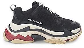 753c113bdc93 Balenciaga Black Women s Sneakers - ShopStyle