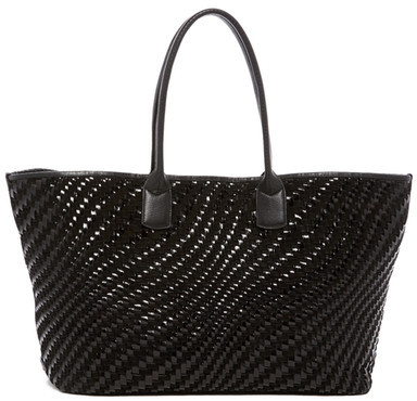 Cole Haan  Cole Haan Lena Woven Leather Tote
