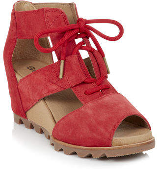 Sorel Joanie Lace Up Wedge
