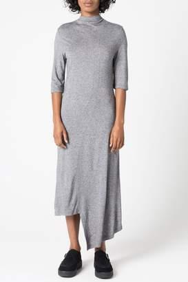 Dagmar Jacqui Viscose Dress Grey Melange