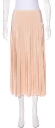 Joseph Pleated Midi Skirt
