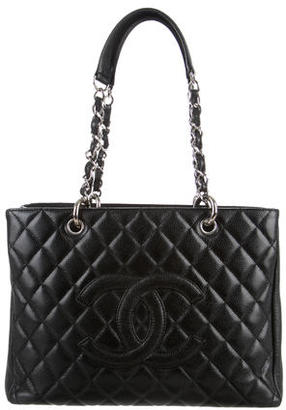 Chanel Grand Shopping Tote $1,895 thestylecure.com