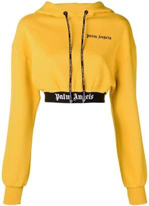 Palm Angels cropped hoodie