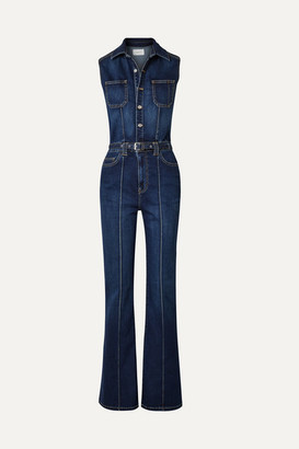 Current/Elliott The Zenith Stretch-denim Jumpsuit