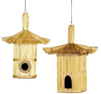 Straw Birdhouse