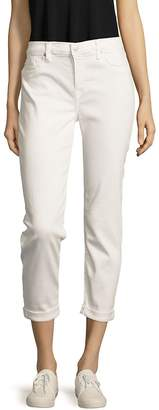 Hudson Women's Solid Five-Pocket Pants - White, Size 28 (4-6)