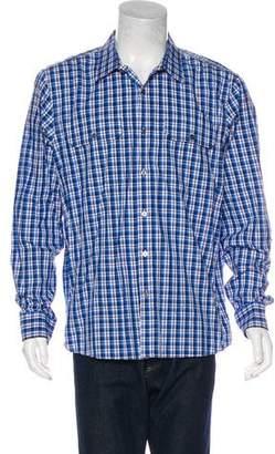 Michael Kors Plaid Woven Shirt