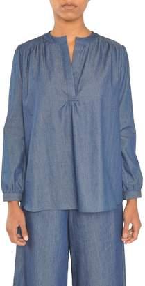 Tylho Chambray Henley Shirt