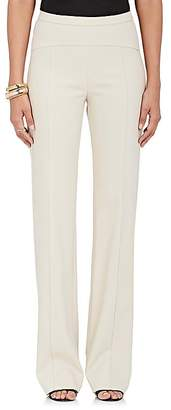 Narciso Rodriguez WOMEN'S WOOL GABARDINE TROUSERS