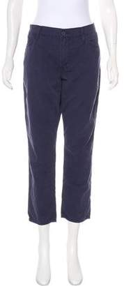 Mother The Dropout Mid-Rise Straight-Leg Pants