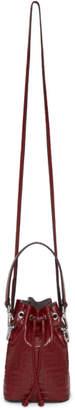 Fendi Red Mini Forever Mon Tresor Bag