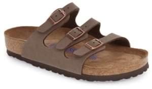 Birkenstock 'Florida Birkibuc' Soft Footbed Sandal
