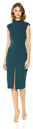 Betsey Johnson Women's Scuba Crepe Midi Dress