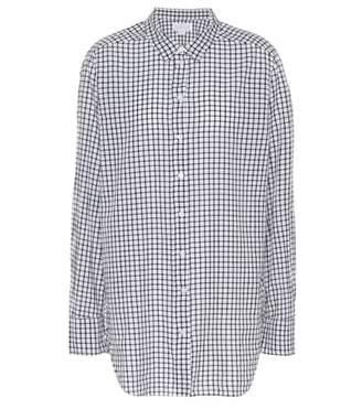 Velvet Rufina plaid cotton shirt