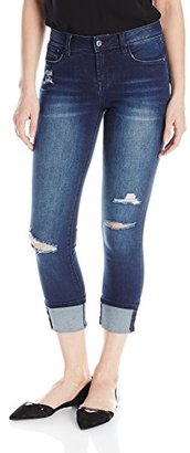 Kensie Jeans Women's 4 Cuff Crop Jean $53.76 thestylecure.com