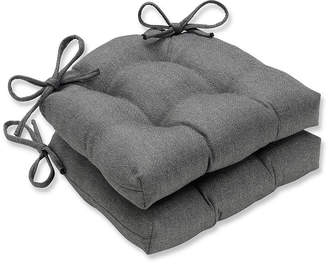 Sonoma Pewter Reversible Chair Pad, Set of 2