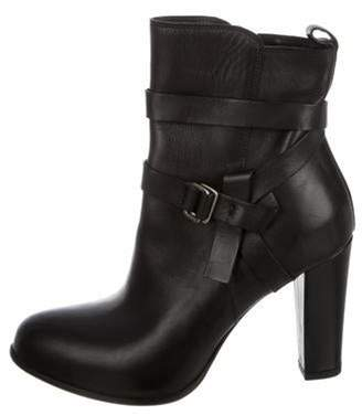 Sartore Leather Ankle Boots Black Leather Ankle Boots