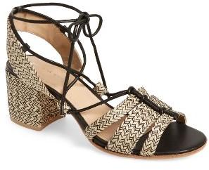 Women's Pour La Victoire Amada Block Heel Sandal $244.95 thestylecure.com