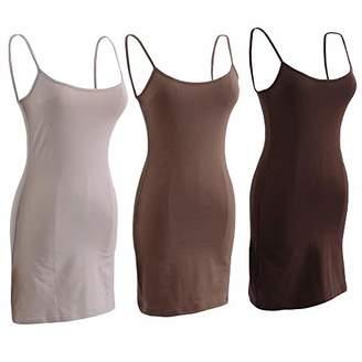 UVAN ART Women's Summer Strap Dress Sleeveless Tight Dress Mini Bodycon Tank Club Dress