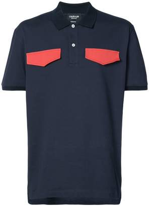 Calvin Klein contrast pocket shirt